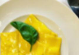 Tortelli con ricotta al profumo di arancia