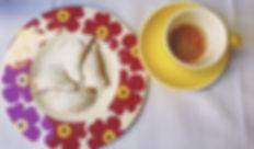 Un caffè e i tortelli dell'Osteria Ruggera