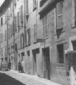 Via Ruggera negli anni 50
