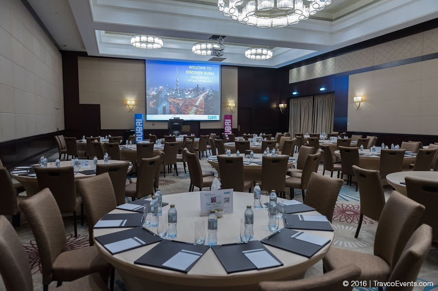 Discover Dubai Conference Setup_TravcoEvents