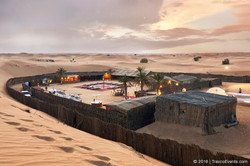 Desert Camp over view_TravcoEvents