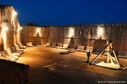 Sheesha setup Travco Desert Camp Margham_TravcoEvents