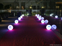 Customized Moonlights sphere Branding_TravcoEvents