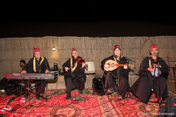 Arabic Band in Desert Camp_TravcoEvents