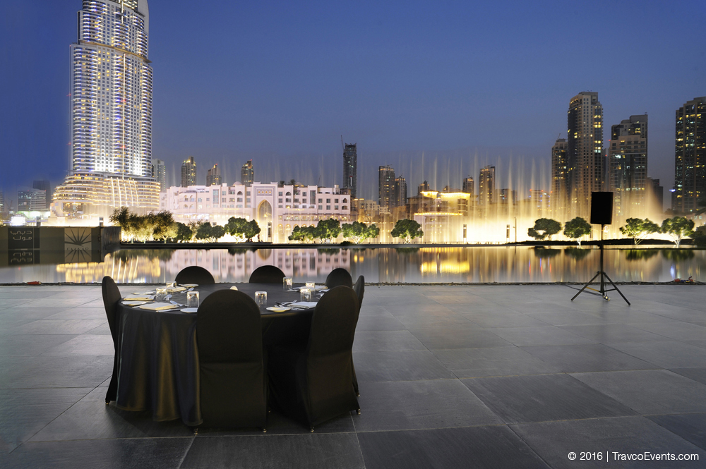 Armani Pavilion Gala Dinner Setup_TravcoEvents