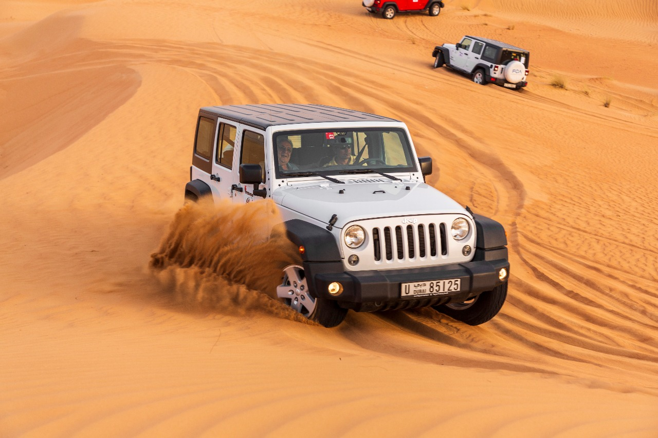 Wrangler Jeep - Self Drive in Desert