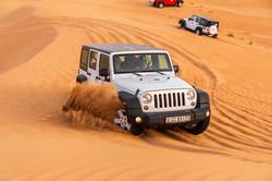 Wrangler Jeep - Self Drive in Desert