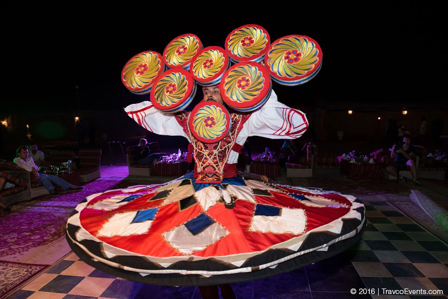 Tanoura Performer in Desert Camp_TravcoEvents