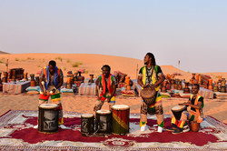 African Drum Play