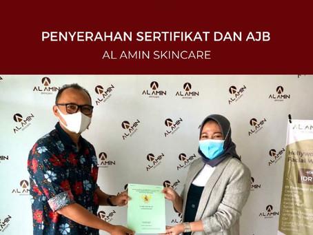 GRAND PANGANDARAN: Penyerahan Sertifikat & AJB Kepada Al-Amin Skin Care