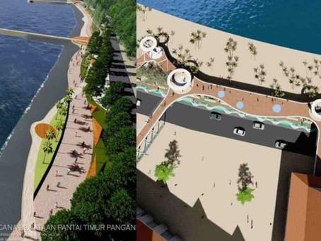 Inilah Fasilitas Publik di Pantai Pangandaran yang Dibangun pada Proyek Penataan