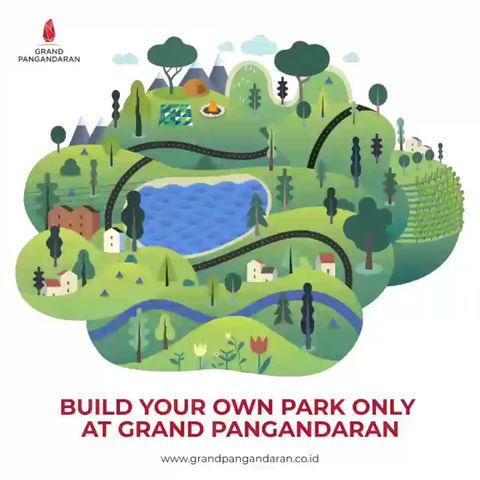 Bangun Taman Berteknologi Modern di Pangandaran!
