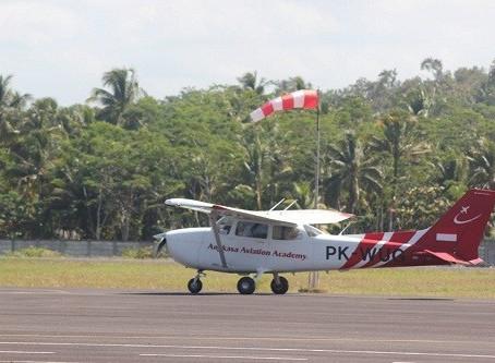 Runway Bandara Nusawiru Diperpanjang 400 Meter
