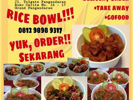 GRAND PANGANDARAN PROMOTION: BARU! Di Cak Man Grand Pangandaran - Rice Bowl