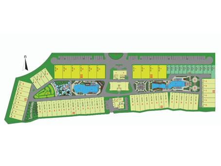 The Allure Villas Pangandaran Site Plan