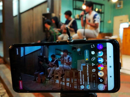 GRAND PANGANDARAN: Seru! Acara live Musik di Grand Pangandaran - Teman Bicara Coffee