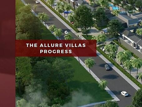 The Allure Villas Progress
