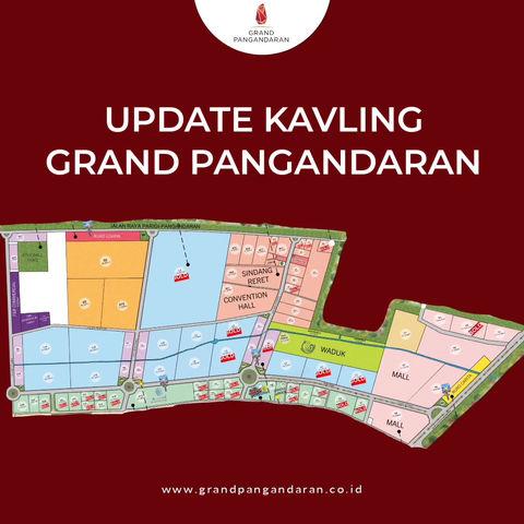 GRAND PANGANDARAN: Update Kavling Grand Pangandaran