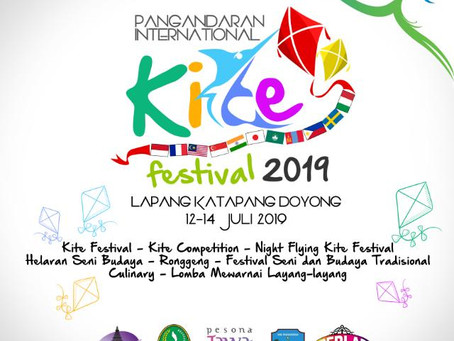 GRAND PANGANDARAN: Pangandaran Internasional KITE Festival (PIKF 2019)