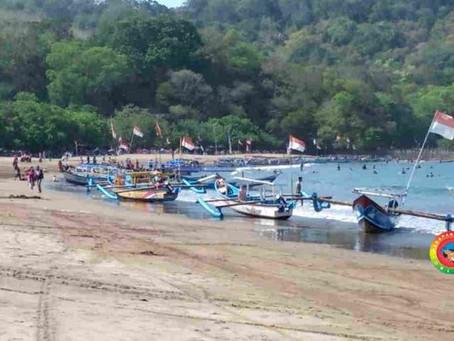 Pasca Penataan Perahu, Kawasan Pantai Barat Pangandaran Sekarang Lebih Nyaman