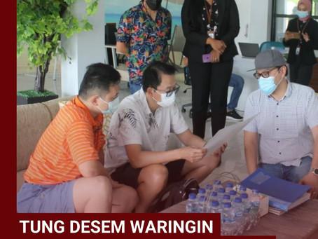 Tung Desem Waringin berkunjung ke Grand Pangandaran