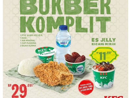 GRAND PANGANDARAN PROMOTION: Promo KFC - Paket BukBer Komplit!