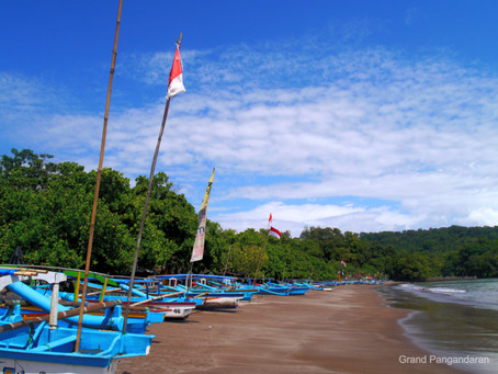 Pangandaran Destinasi Wisata Terfavorit di Jawa Barat Selama Tahun 2020