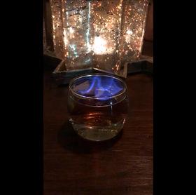 Pour les fêtes... Cocktail tout feu, tout flamme !
