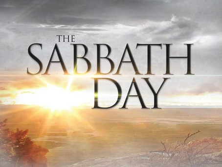 The Sabbath or the Lord's Day