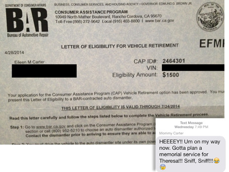 California Will Give You $1500 for Your Old @** Car