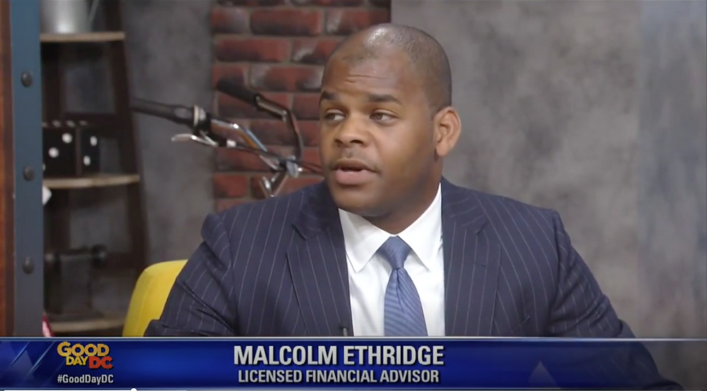 Malcolm Ethridge Appears on Good Day DC FOX 5 DC
