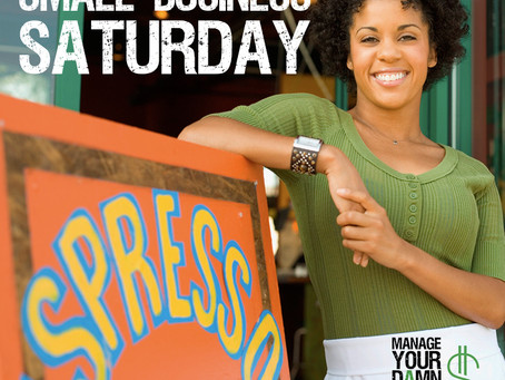 Be A Pal and Support a Small Business on Small Business Saturday