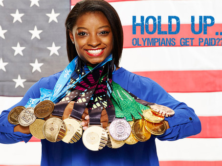 Hold Up... American Olympians Get Paid???