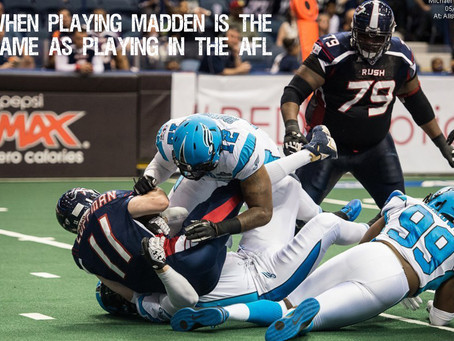 Why Playing Arena Football is an Extremely Poor Investment