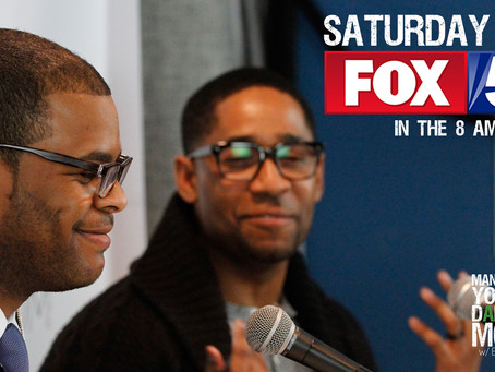 MYDM Show Co-Hosts Ben Carter and Malcolm Ethridge to Appear on FOX 5 Saturday Morning Show