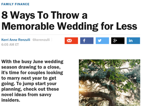 Money.com Wants You to Throw a Wedding for Less