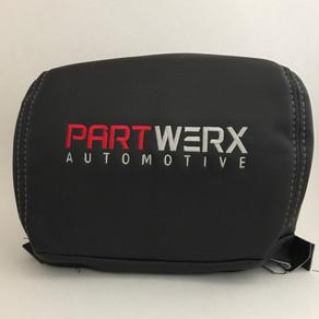 Custom Headrest covers? No problem!