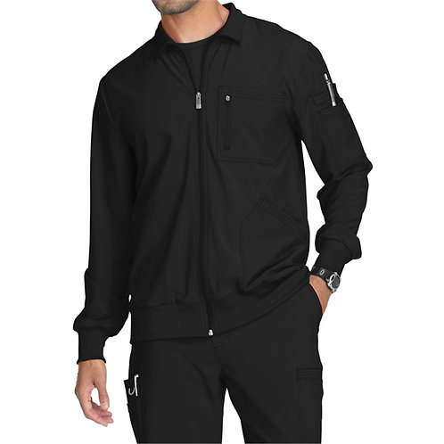 STAFF - Infinity® Men's Zip Front Warm-Up Scrub Jacket