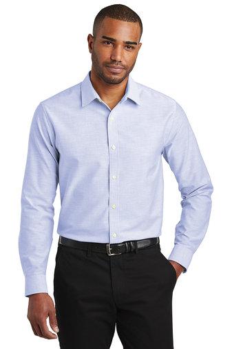 S661  Port Authority ® Slim Fit SuperPro ™ Oxford Shirt