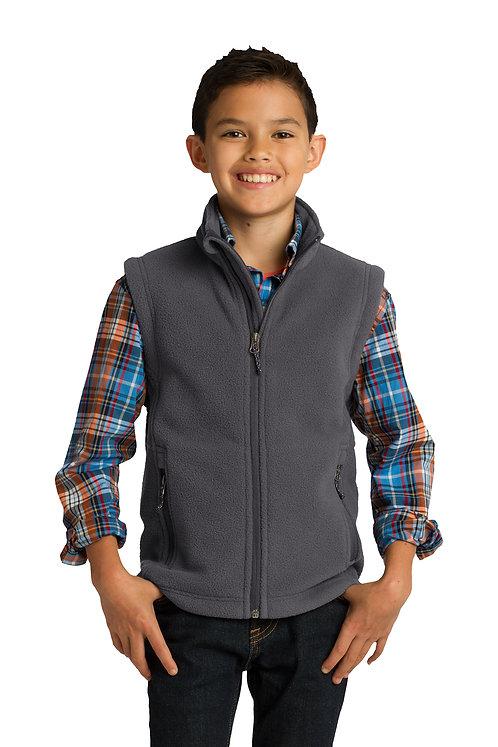 Port Authority® Youth Fleece Full Zip Vest