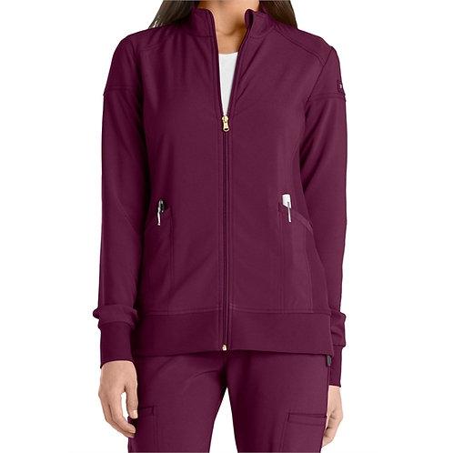 SAFETY - Cherokee® Women's Iflex Zip Front Warm Up Scrub Jacket
