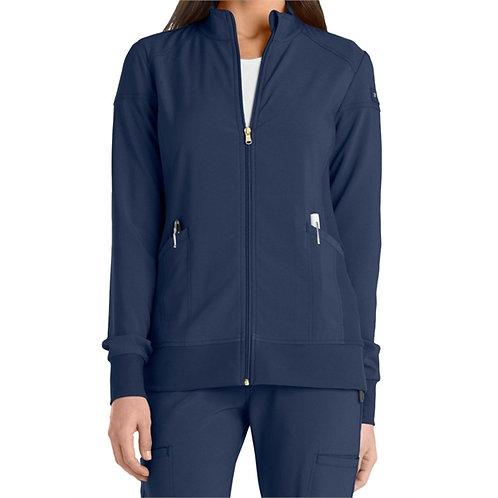RN - Cherokee® Women's Iflex Zip Front Warm Up Scrub Jacket