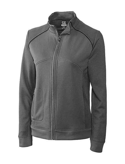 CNA - Cutter & Buck DryTec Ladies Edge Full Zip jacket ST