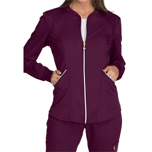 SAFETY - Luxe Sport Women's Zip Front Warm-up Jacket