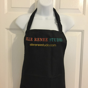 Great twist on this apron.