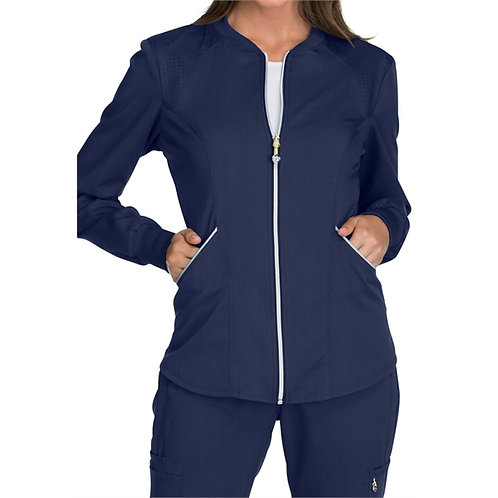 RN - Luxe Sport Women's Zip Front Warm-up Jacket