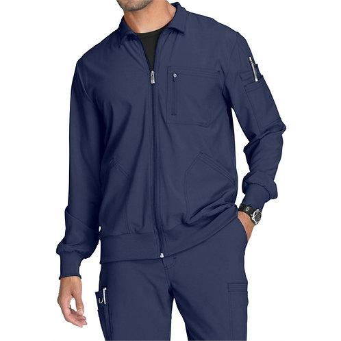 RN - Infinity® Men's Zip Front Warm-Up Scrub Jacket