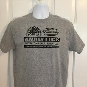 Gorilla Glue/O'Keefe's shirts