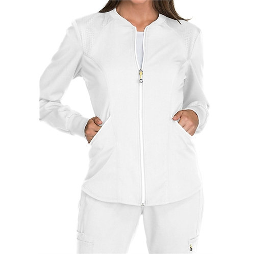 RN - Luxe Sport Women's Zip Front Warm-up Jacket WS