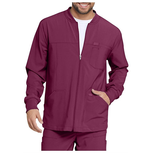 SAFETY - Dickies® Men's EDS Essentials Full Zip Front Scrub Jacket